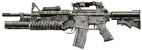 M4 ZR12 Assault Rifle (shown w/under-barrel gernade launcher)
